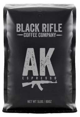 Black Rifle Coffee Company 5 Pound Bag of Black Rifle Whole Bean (AK-47)