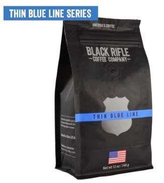 Black Rifle Coffee Company Ground Coffee: Thin Blue Line