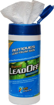 Hygenall LeadOff Disposable Cleaning and Decon Wipes - 45 Wipe Canister 45NRCN