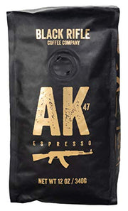 AK-47 Medium Roast Whole Bean Coffee by Black Rifle Coffee Company