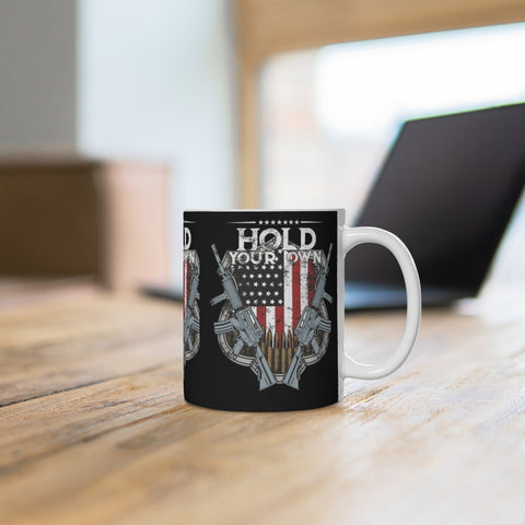Hold Your Own America Mug
