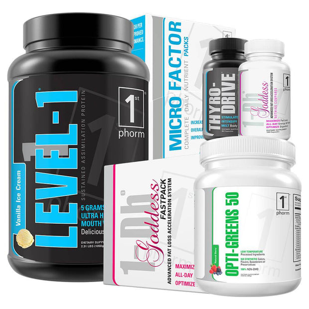 FAT LOSS ESSENTIALS STACK FOR WOMEN