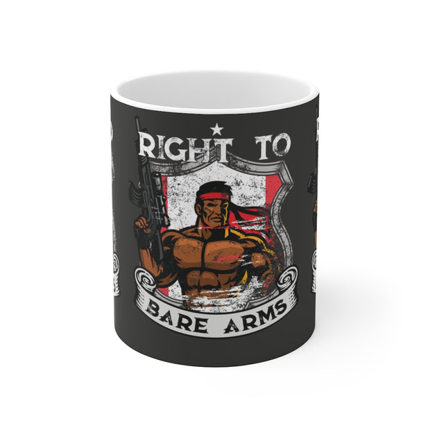 Right To Bare Arms Canada Mug