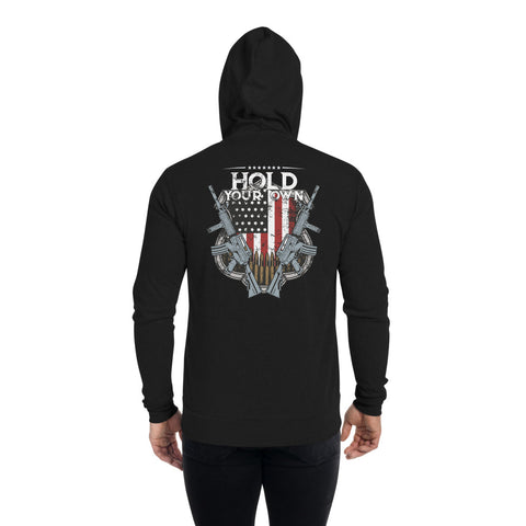 Hold Your Own America Zip Hoodie