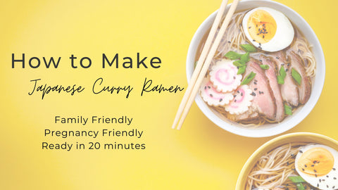 Make your own ramen at home!