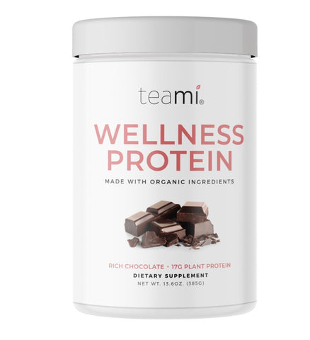 Organic Plant-based Wellness protein, Rick Chocolate