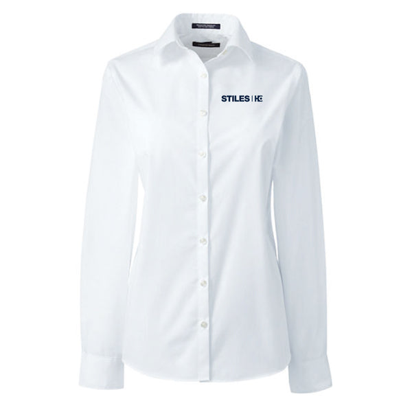 Women's Lands End Dress Shirt