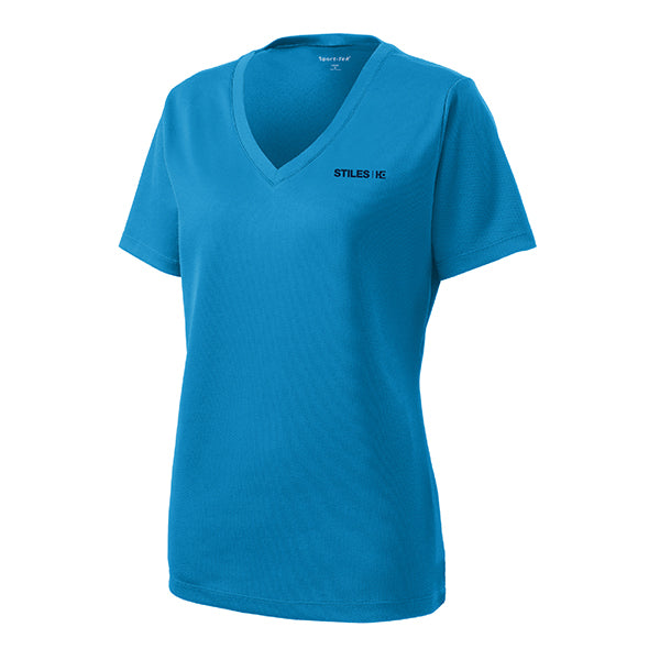 Women's Bright Blue Performance T-Shirt - WHILE SUPPLIES LAST