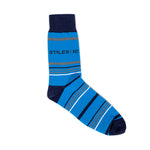 Custom Socks - Blue Stripe