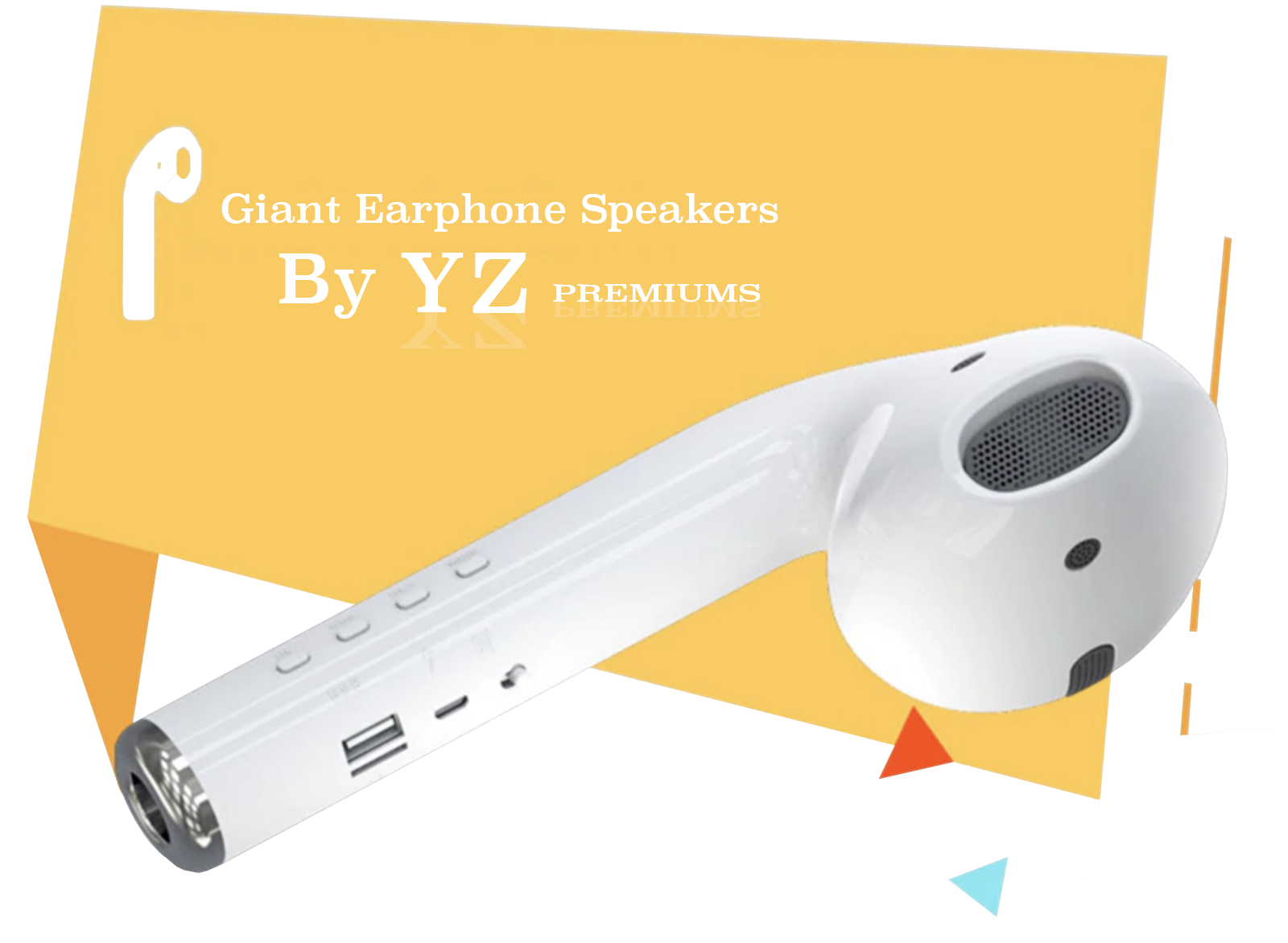 YZ Premiums free shipping speakers bluetooth airpods earbuds trending bass system