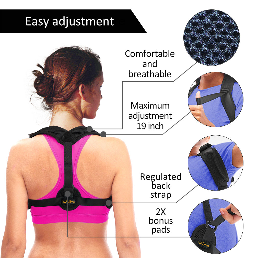 YZ Premiums posture corrector healthy care home office anti pain free and fast shipping