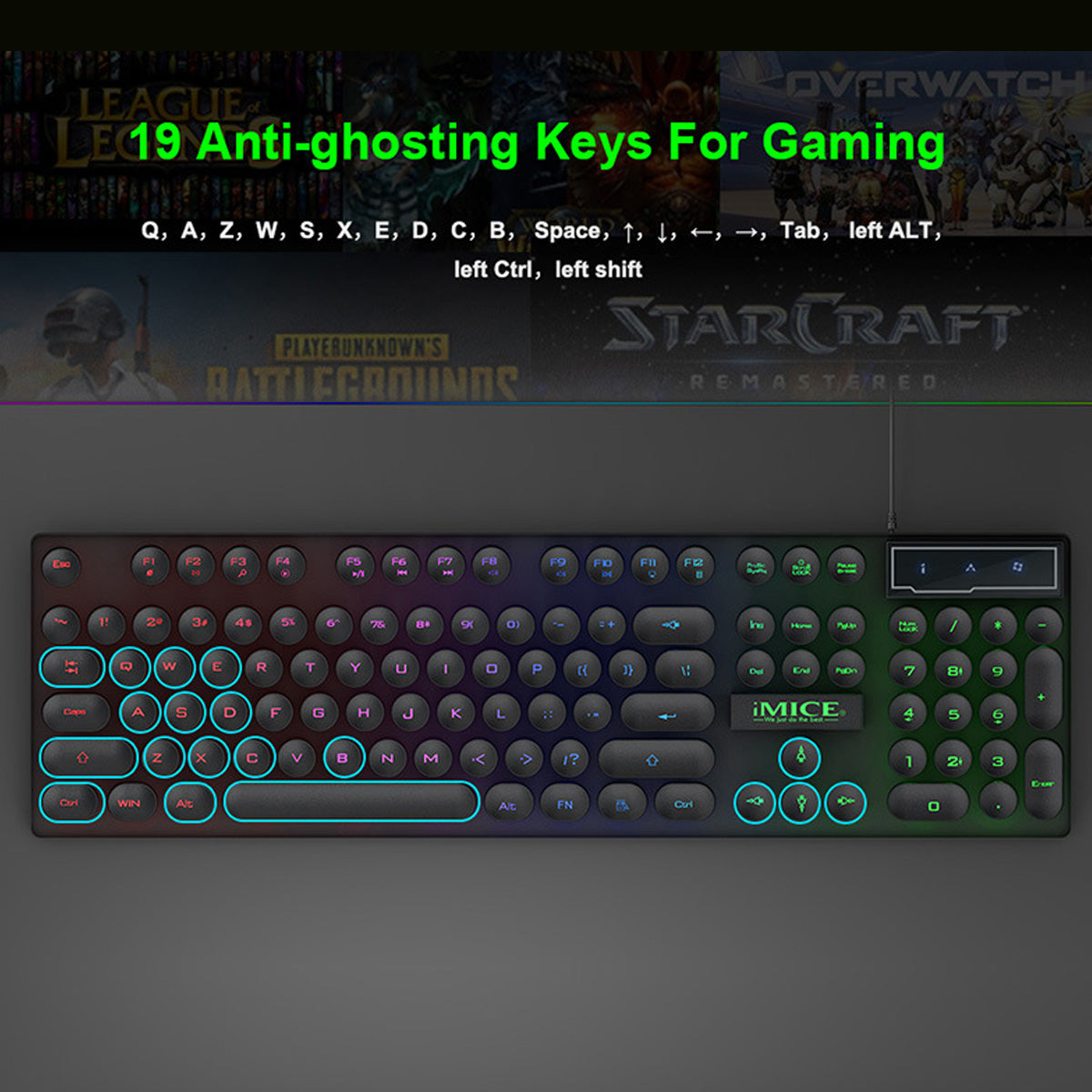 YZ Premiums | Pro Series | Gaming Keyboard | Waterproof