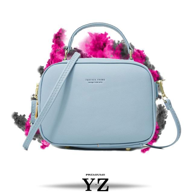 Signature Handbag - Blue Drop