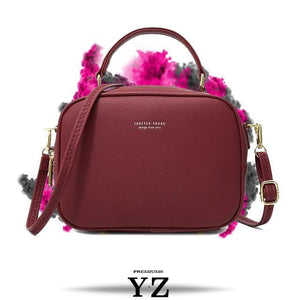 Signature Handbag - Wine