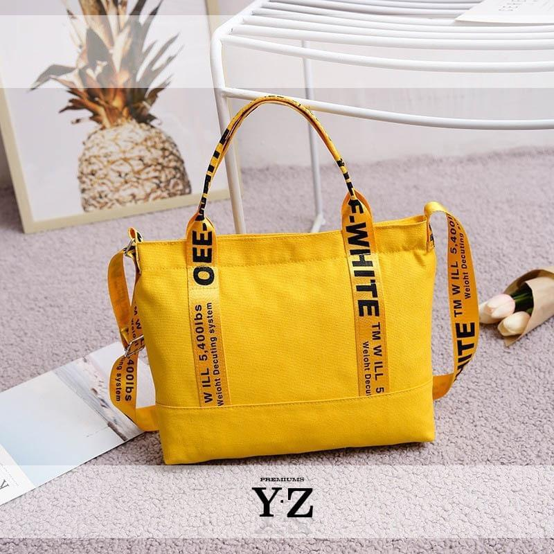 Halycon Bag - Yellow