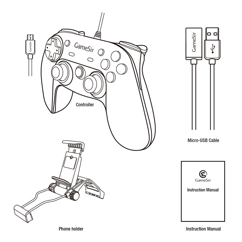 The special designed controller creates much better grip and makes sure you have no more hand pain while playing in longer periods. It also gives the gamers the unique opportunity to make a big difference between in-game opponents.