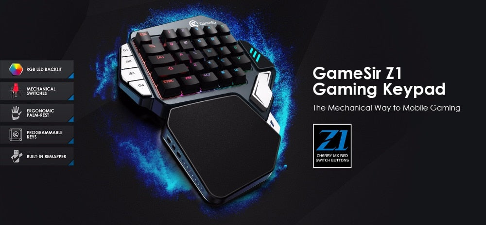 Pro Gaming Keypad w/ Bluetooth & Wire connection compatible with Phones, Tablets and PC  is a tool many phone and computer gamers loves to use. Faster responsive moves that allows you to take the control in the game in a much safer and better way.