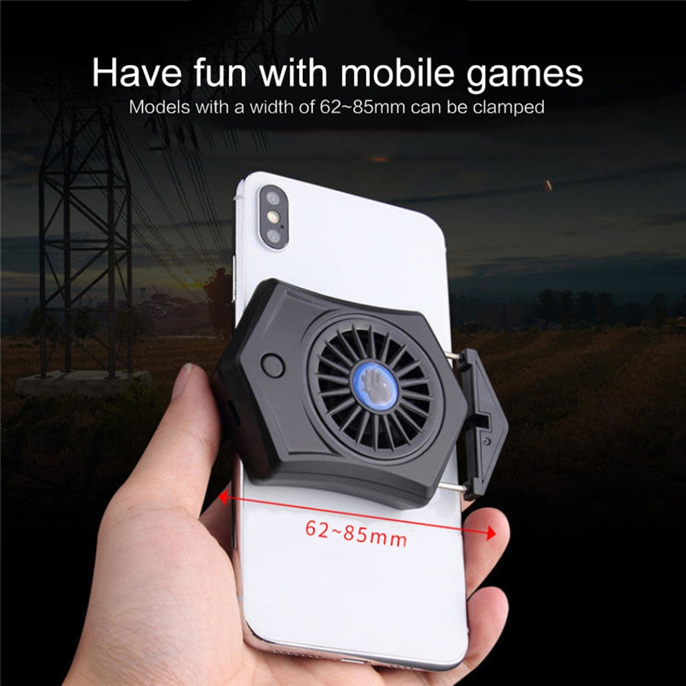 YZ Premiums | Outdoor Cooling Fan for Phones | Rechargeable
