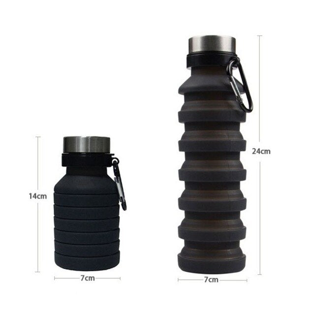 YZ Premiums expanding bottle traveling bottle outdoor training bottle free shipping 7 days in US!