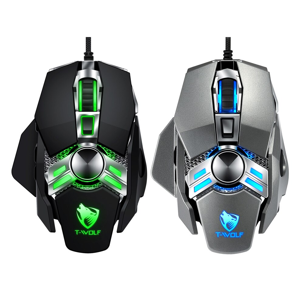 YZ Premiums wired gaming mouse amazing response free shipping in 4-13 business days delivery time in US borders!