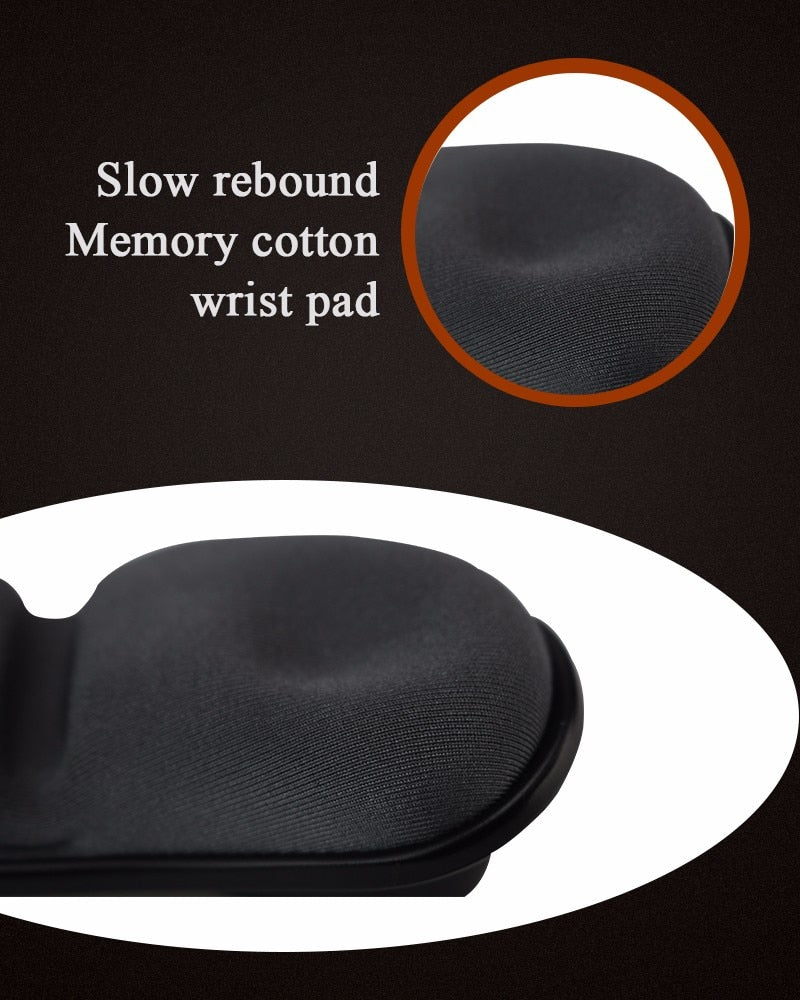 Ergonomic Wrist Rest | Rubber Hand Wrist Rest | Healthy Design