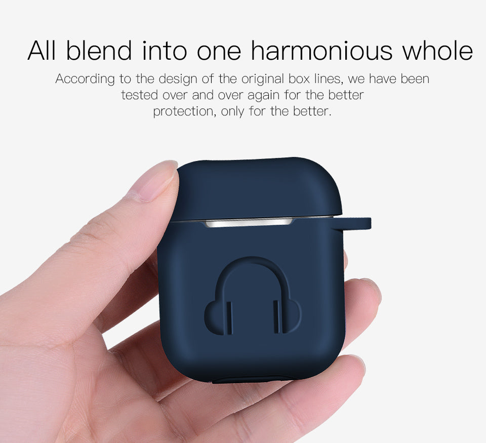 The Classy White Cover Case for Airpods