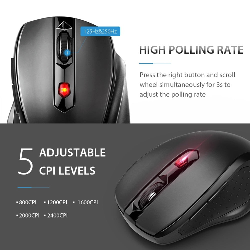 YZ Premiums office electronics wireless mouse free shipping 4-13 business days in US Borders