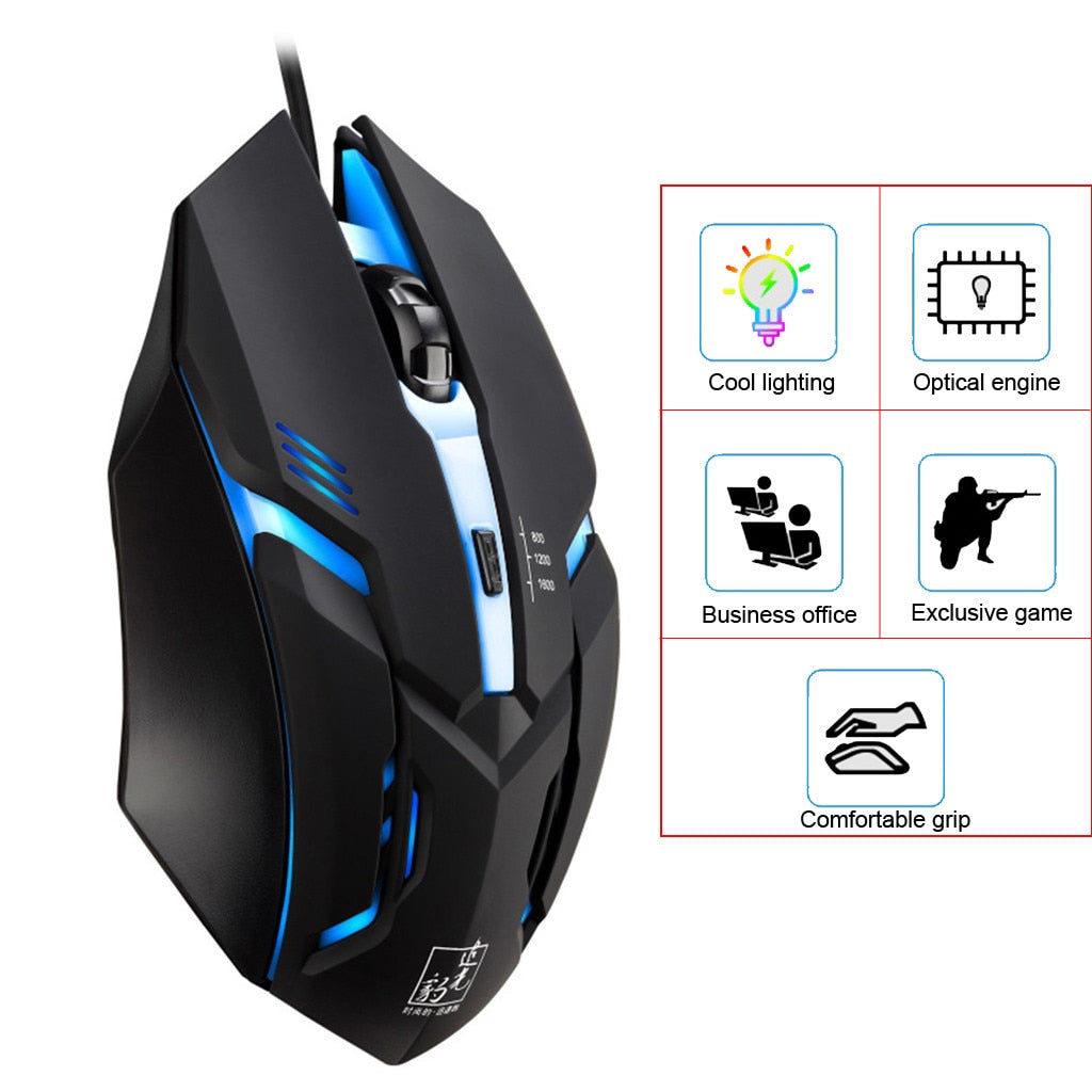 Gaming mouse for gamers pubg and fortnite free shipping