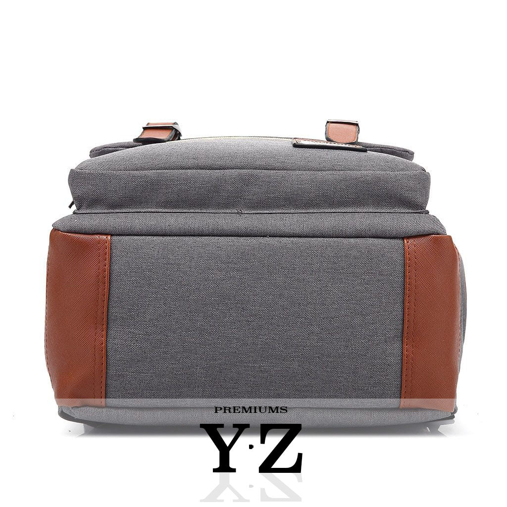 Vintager Backpacks - Light Gray