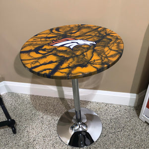 Custom Epoxy Pub Table - Nulook Epoxy