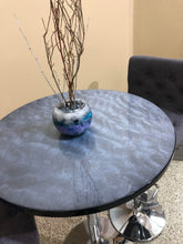 Load image into Gallery viewer, Metallic Grey - Custom Epoxy Pub Table - Nulook Epoxy