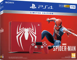 LIMITED EDITION Sony PS4 1TB With Spider-Man