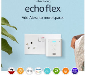 Amazon echo flex plug- white