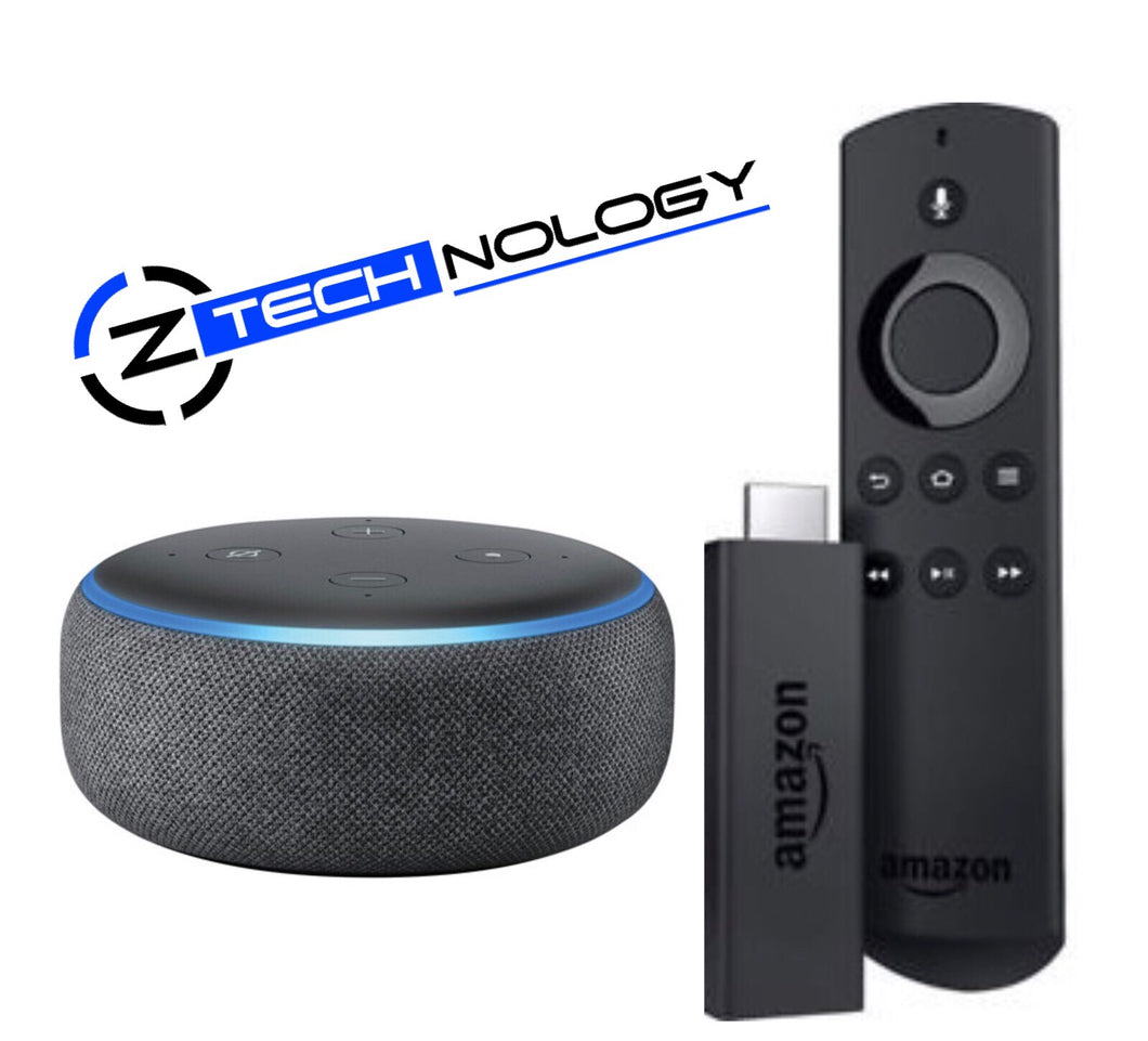 Amazon Firestick and echo dot bundle