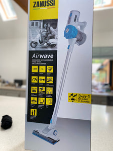Zanussi Airwave 3-in-1 cordless handheld vacuum cleaner- Blue