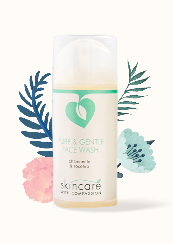 PURE & GENTLE FACE WASH - 100ml