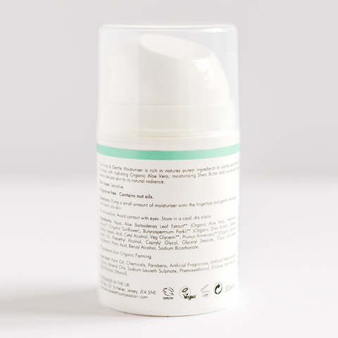 PURE & GENTLE MOISTURISER - 50ml