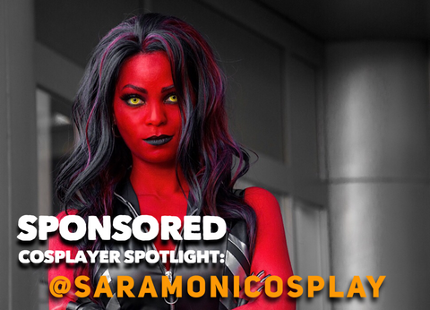 Sponsored cosplayer spotlight