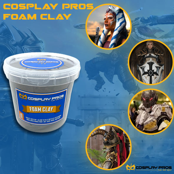 Cosplay Pros Foam Clay