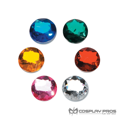 Cosplay Pros Assorted Color Rhinestones