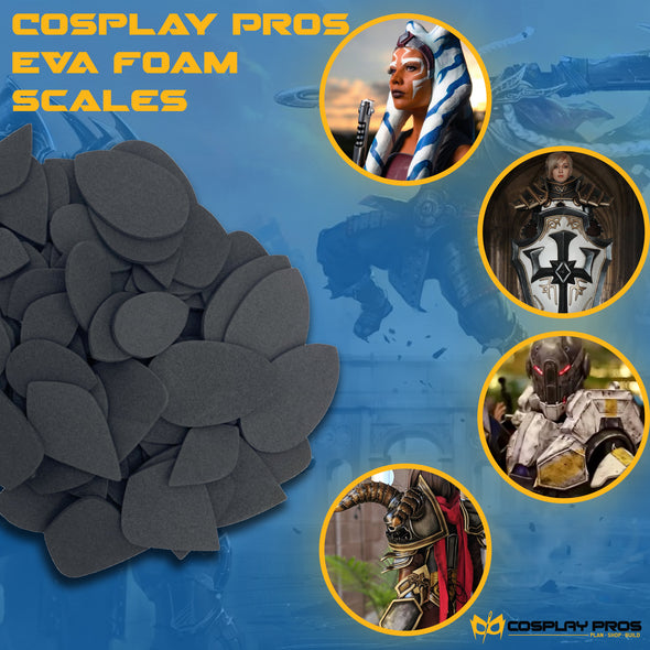 Eva Foam Scales from Cosplay Pros