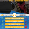 Cosplay Pros EVA foam infographic