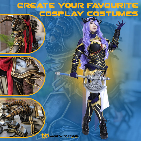 Cosplay Pros armor examples