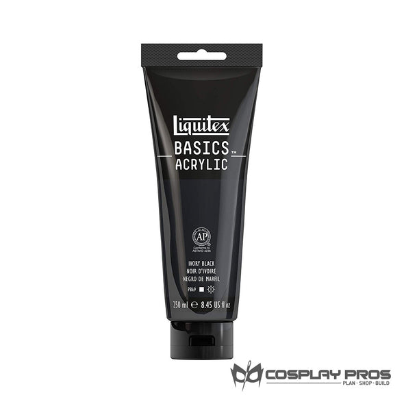 Cosplay Pros Liquitex BASICS Acrylic Black Paint 8.45oz
