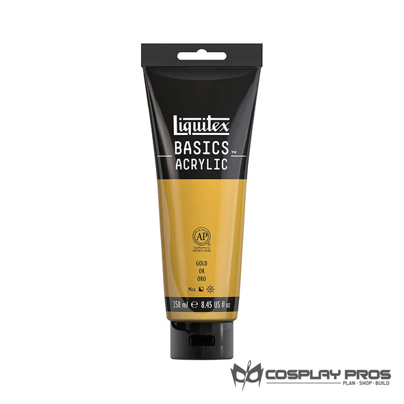 Cosplay Pros Liquitex BASICS Acrylic Gold Paint 8.45oz