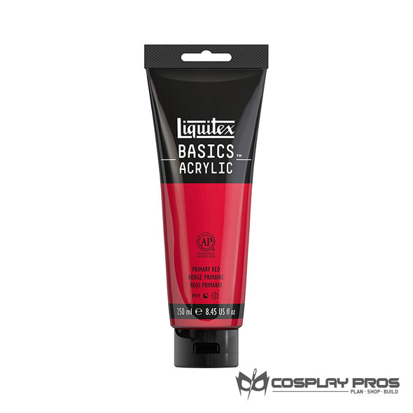 Cosplay Pros Liquitex BASICS Acrylic Red Paint 8.45oz