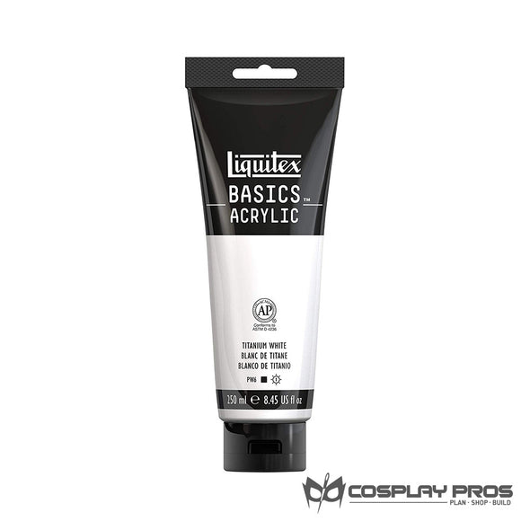 Cosplay Pros Liquitex BASICS Acrylic White Paint 8.45oz
