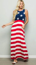 Load image into Gallery viewer, Bless The U.S.A Maxi Dress