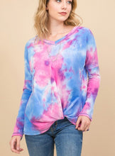 Load image into Gallery viewer, Rochelle french terry tie dye top