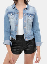 Load image into Gallery viewer, Kora denim jacket in light wash